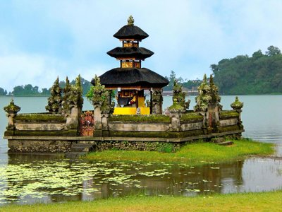 Pura Ulun Danu am Lake Beratan