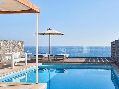 Wohnbeispiel 1 Bedroom Club Suite Sea View Private Pool