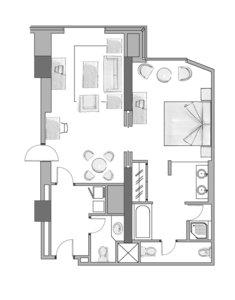 Wohnbeispiel Senior Suite