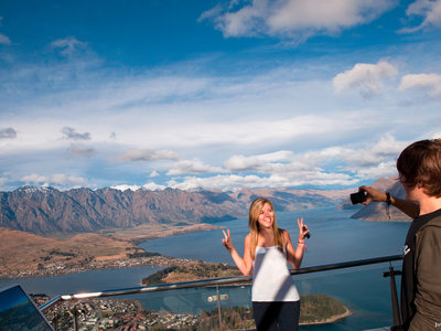 Blick auf Queenstown, Tourism New Zealand©Julian Apse