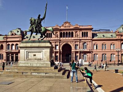 Präsidentenpalast, Buenos Aires