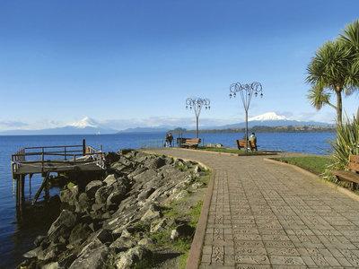 Puerto Varas, Osorno und Calbuco Vulkan
