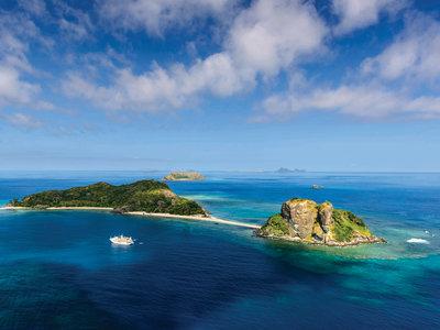 Fiji Princess vor Sacred Islands ©Chris McLennan Photography
