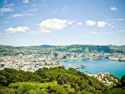 Blick vom Mt. Victoria auf Wellington, ©WellingtonNZ