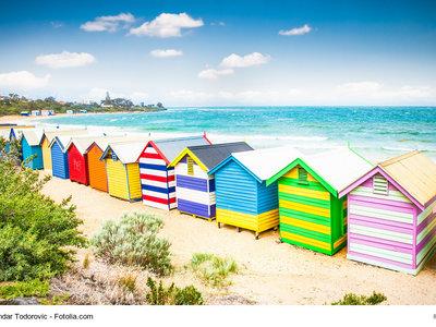 Badehäuschen am Brighton Beach, Mebourne © Aleksandar Todorovic - Fotolia.com
