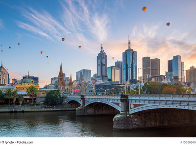 Melbourne, Skyline © f11photo - Fotolia.com