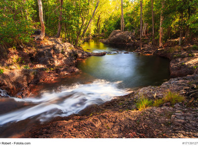 Blue Rockhole, Litchfield Nationalpark © Robert - Fotolia.com