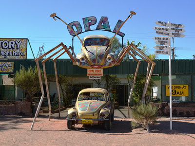 Alien Town Coober Pedy