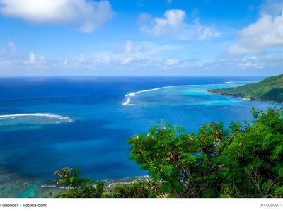 Opunohu Bay und Lagune Moorea © daboost - Fotolia.com