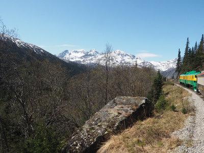 White Pass & Yukon Railroad © Ruby Range Adventure Ltd.