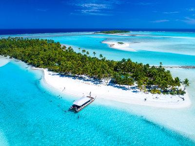 One Foot Island, Aitutaki © Cook Islands Tourism, David Kirkland