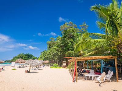 Panama, Bocas del Toro, Red Fog Beach, Strandbar