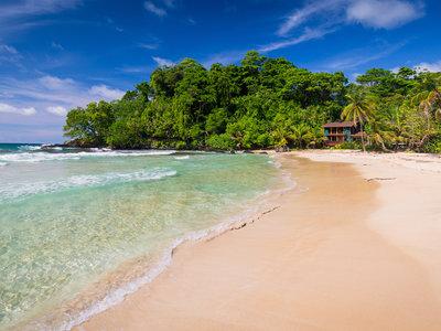 Panama, Bocas del Toro, Red Frog Beach
