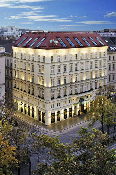The ring vienna 39 s casual luxury hotel hotelbilder the for The ring hotel vienna
