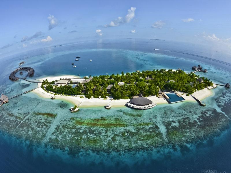Nord Male Atoll, PER AQUUM Huvafen Fushi vom 2016-09-21 bis 2016-09-28, für 3373,- Euro p.P.