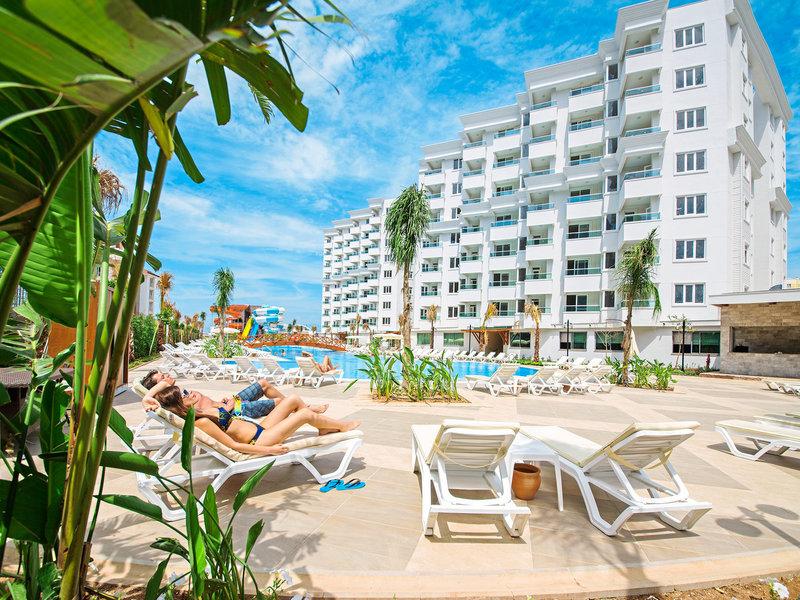 Türkische Riviera, Hotel Lara Family Club vom 2016-09-24 bis 2016-10-01, für 397.83,- Euro p.P.