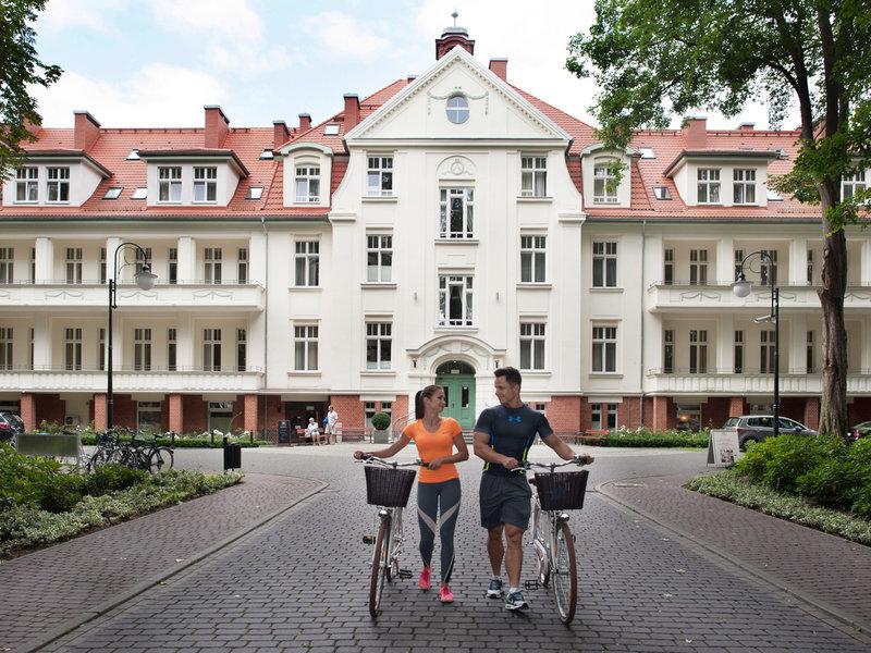 Hotel Kaisers Garten Und Apartements Swinemünde Günstige
