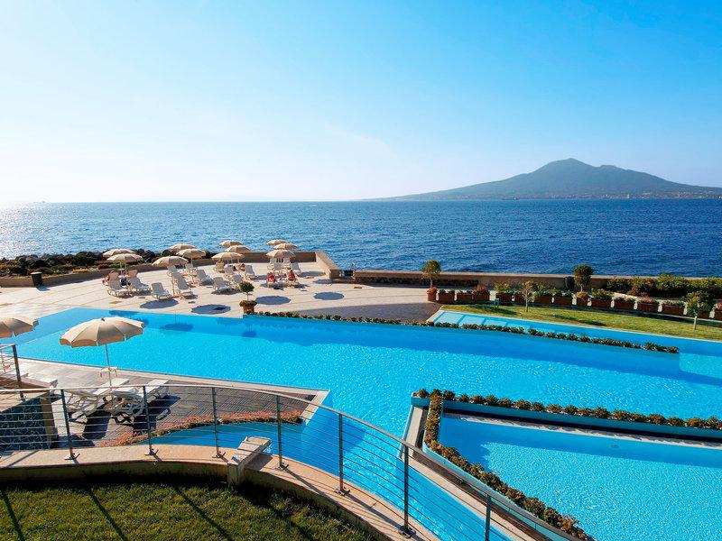 Towers Hotel Stabiae Sorrento Coast Castellammare Di Stabia Kampanien Italien