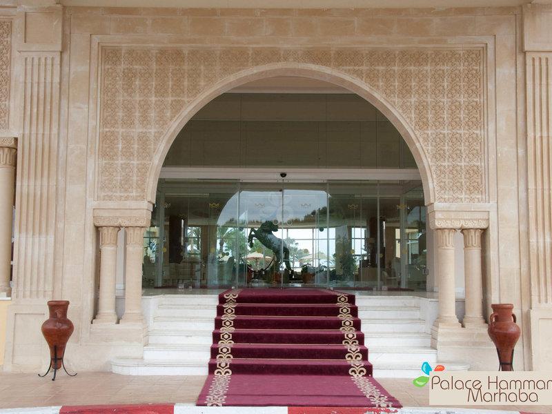 Hammamet, Hotel Palace Hammamet Marhaba vom 2016-10-08 bis 2016-10-15, für 637,- Euro p.P.