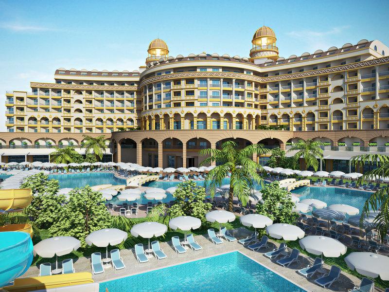 Türkische Riviera, Kirman Hotels Sidemarin Beach Spa vom 2016-10-24 bis 2016-10-31, für 443,- Euro p.P.