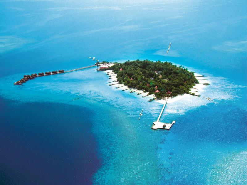 Ari Atoll, Nika Island Resort vom 2016-10-10 bis 2016-10-17, für 1931,- Euro p.P.