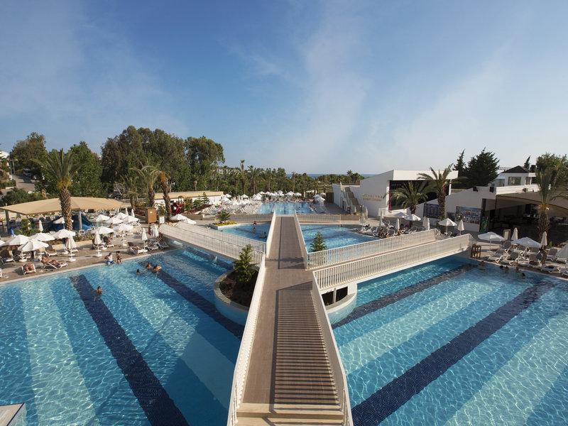 Türkische Riviera, Kirman Hotels Sidemarin Beach Spa vom 2016-10-24 bis 2016-10-31, für 461.34,- Euro p.P.