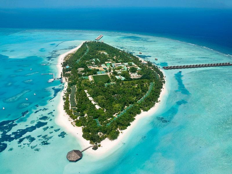 Nord Male Atoll, Meeru Island Resort Spa vom 2016-08-29 bis 2016-09-05, für 1475,- Euro p.P.