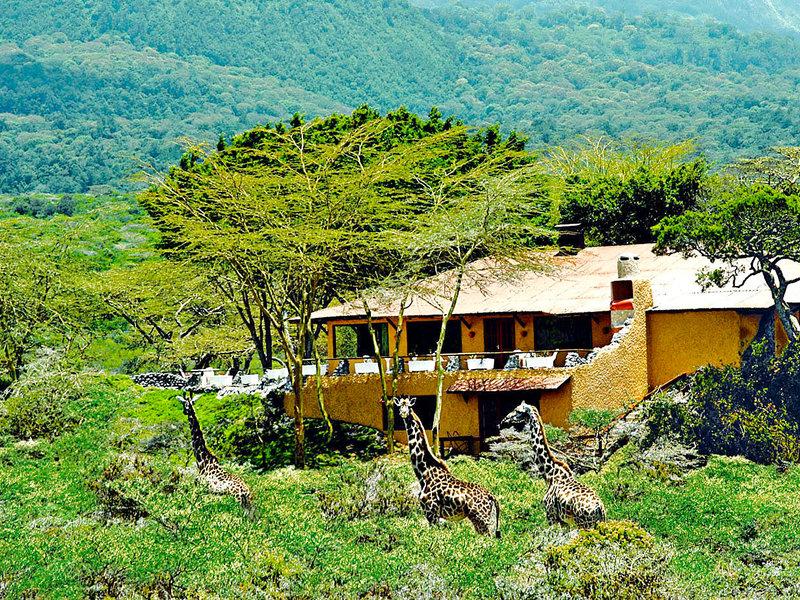 Arusha-Nationalpark, Hatari Lodge vom 2016-10-20 bis 2016-10-23, für 693,- Euro p.P.