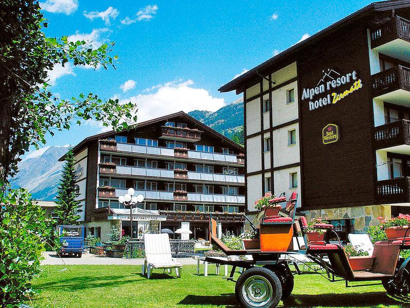 Zermatt, Alpen Resort Hotel vom 2016-08-20 bis 2016-08-21, für 82,- Euro p.P.