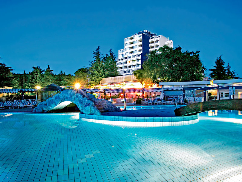 Istrien -     nur Hotel, Valamar Diamant Hotel vom 2016-10-08 bis 2016-10-15, für 258,- Euro p.P.