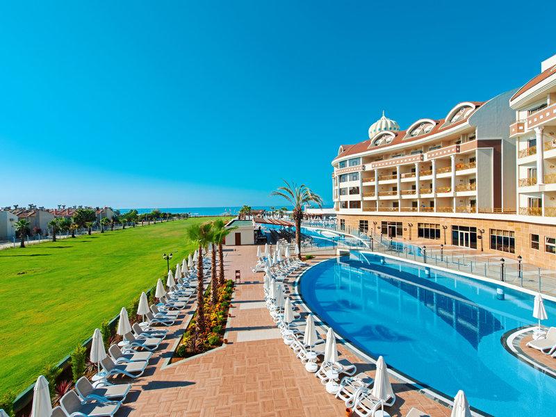 Türkische Riviera, Kirman Hotels Belazur Resort Spa vom 2016-07-10 bis 2016-07-17, für 642,- Euro p.P.