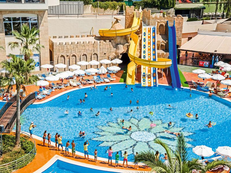 Türkische Riviera, Kirman Hotels Leodikya Resort vom 2016-10-23 bis 2016-10-30, für 418,- Euro p.P.